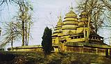 Шевченківський гай. Церква із села Кривки